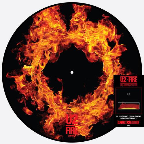 U2 - Fire (RSD2021 - Picture Disc) [NEUF]