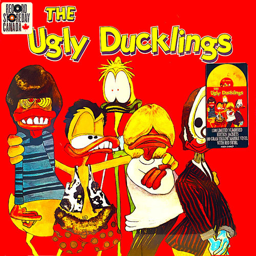 The Ugly Ducklings - The Ugly Ducklings (RSD2021 - Yellow/Red Marble Vinyl) [NEUF]