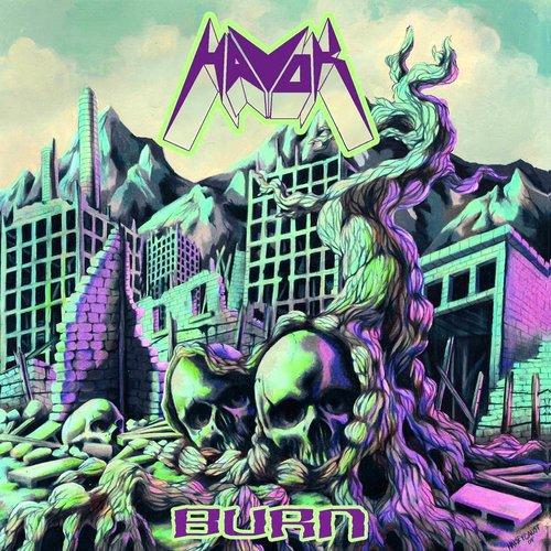 Havok - Burn (Limited Edition - Purple w/ Black Swirl Vinyl) [NEUF]
