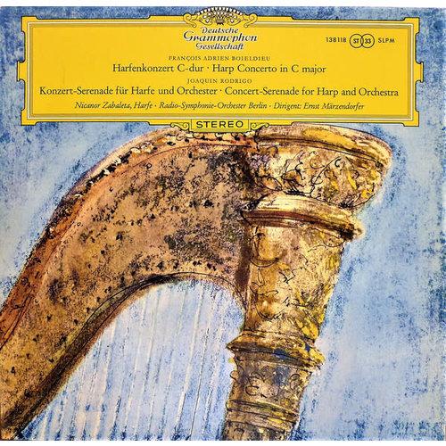 François-Adrien Boieldieu / Joaquín Rodrigo - Nicanor Zabaleta · Radio-Symphonie-Orchester Berlin · Ernst Märzendorfer - Harfenkonzert C-dur · Harp Concerto In C Major / Konzert-Serenade Für Harfe Und Orchester · Concert-Serenade For Harp And Orchestra [U