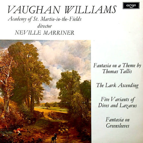 Ralph Vaughan Williams - The Academy Of St. Martin-in-the-Fields Director: Sir Neville Marriner - Fantasia On A Theme By Thomas Tallis / The Lark Ascending / Five Variants Of Dives And Lazarus / Fantasia On Greensleeves (Vaughan Williams Concert) [USED]