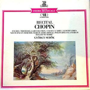 Frédéric Chopin, György Sebök - Recital Chopin [USED]