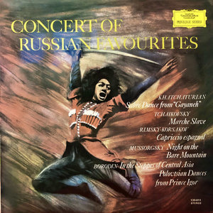 Aram Khatchaturian / Pyotr Ilyich Tchaikovsky / Nikolai Rimsky-Korsakov / Modest Mussorgsky / Alexander Borodin - Concert Of Russian Favourites [USED]