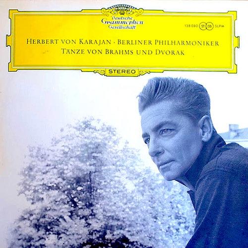 Johannes Brahms & Antonín Dvořák, Berliner Philharmoniker / Herbert Von Karajan - Dances By Brahms & Dvořák