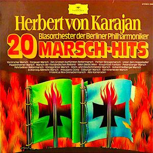Herbert von Karajan, Blasorchester der Berliner Philharmoniker - 20 Marsch-Hits