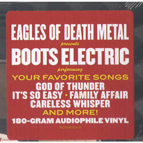 Eagles Of Death Metal Presents Boots Electric - Eagles Of Death Metal Presents Boots Electric Performing The Best Songs We Never Wrote  [USED]