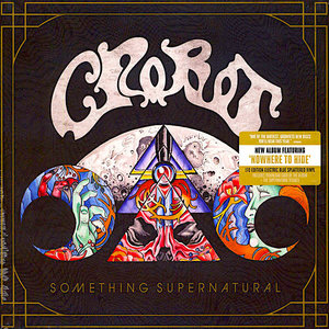 Crobot - Something Supernatural (Black-splattered blue vinyl) [USED]