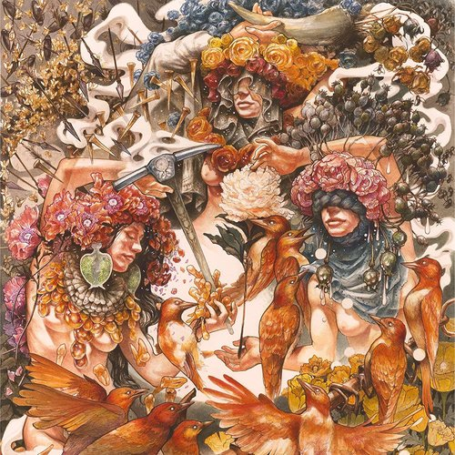 """Baroness - Gold & Grey (Limited """"Indie Store Edition - 2LP - Blue Transparent + Orange Transparent) [USED]"""