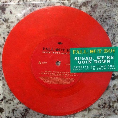 "Fall Out Boy - Sugar, We're Goin Down (7"" - Red Vinyl)[USAGÉ]"