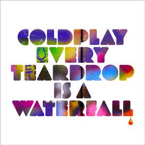 "Coldplay - Every Teardrop Is A Waterfall (7"" - Blue Vinyl) [USED]"