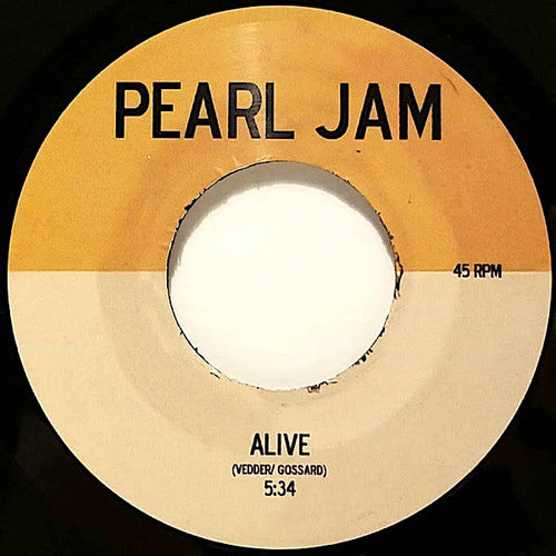 """Pearl Jam - Alive (7"""" - Limited Edition) [USED]"""