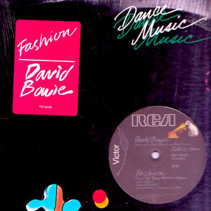 "David Bowie - Fashion / Scream Like A Baby (12"") [USED]"