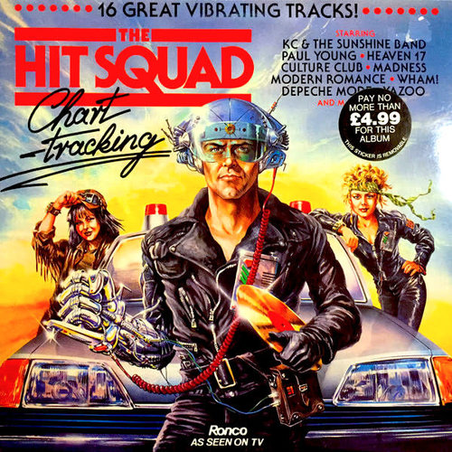 Various - The Hit Squad Chart-tracking  [USED]