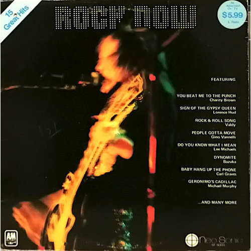 Various - Rock Now  [USED]