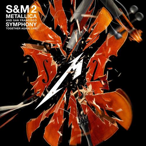 Metallica & The San Francisco Symphony Orchestra - S&M2 (Limited Indie Store Edition - 4LP - Orange Marbled Vinyl)[USAGÉ]