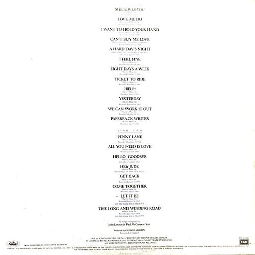 The Beatles - 20 Greatest Hits  [USED]
