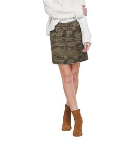 Mud Pie Stevie Camo Skirt