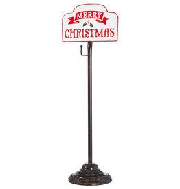 Raz Imports Merry Christmas Tabletop Wreath Hanger