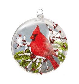 Raz Imports Cardinal Ornament