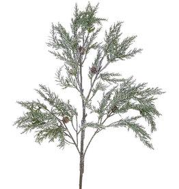 Raz Imports Snowy Cedar Branch