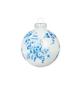 Raz Imports Chinoiserie Pagoda Ball Ornament