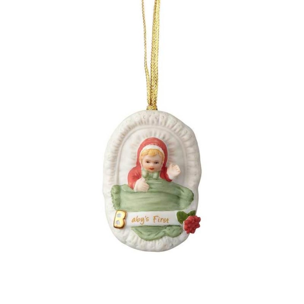 GROWING UP GIRLS COLLECTIBLE  ORNAMENT BLONDE BABY