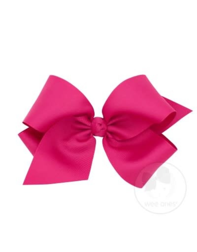 WEE ONES Colossal Classic Grosgrain Hair Bow