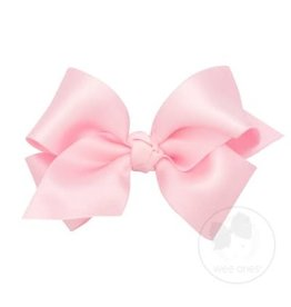WEE ONES Small Classic French Satin Bow