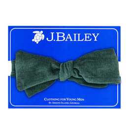 J.BAILEY JOHNNY BOW TIE - FOREST GRN
