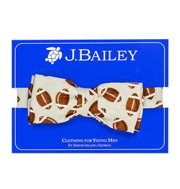 J.BAILEY JOHNNY BOW TIE - FOOTBALLS