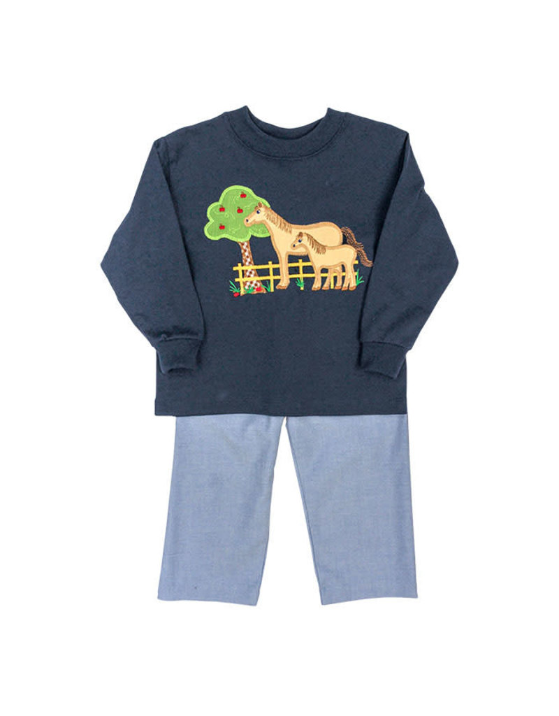 BAILEY BOYS HORSE BOYS PANT SET