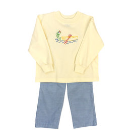 BAILEY BOYS CANOE STITCH BOYS PANT SET
