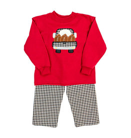 BAILEY BOYS FOOTBALL TRUCK PANT SET