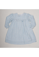 THE OAKS APPAREL COMPANY ALICIA BLUE CHECK DRESS