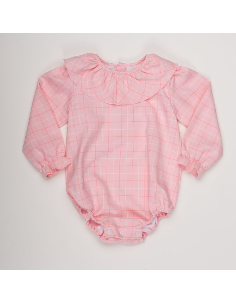 THE OAKS APPAREL COMPANY LOUISE PINK CHECK BUBBLE