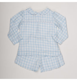 THE OAKS APPAREL COMPANY DREW SOFT BLUE LS SET