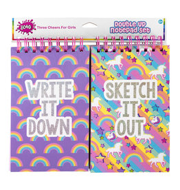 3C4G DOUBLE UP NOTEPAD SET