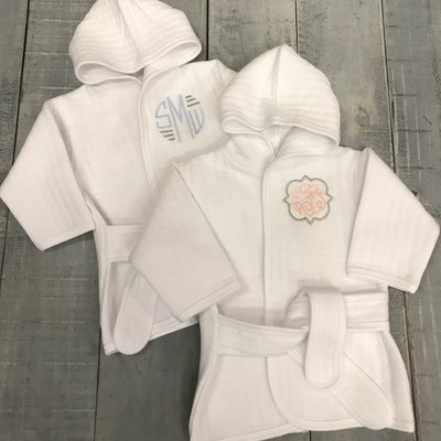 BEYOND THE RAINBOW ROBE WITH MONOGRAM