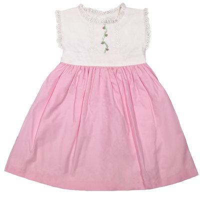CHRISTIAN ELIZABETH & CO TUCKER BOW DRESS