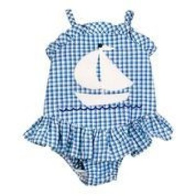 BAILEY BOYS Ship Ahoy Swimsuit with Ruffle