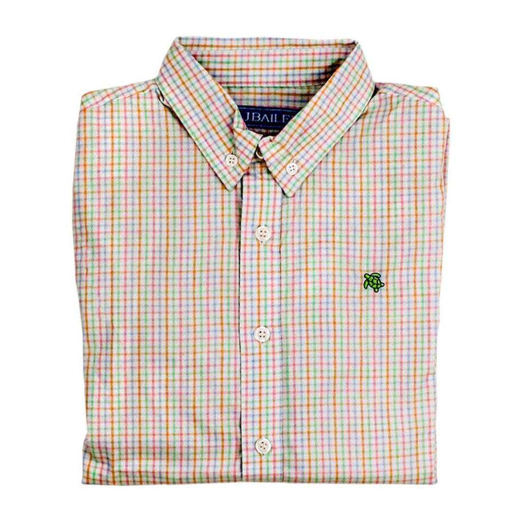 J.BAILEY BUTTON DOWN SHIRT- EASTER BASKET