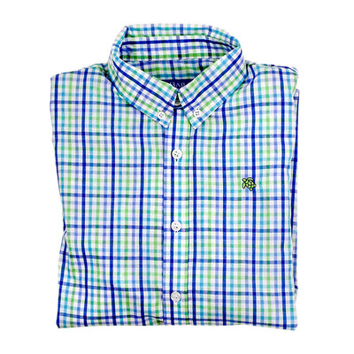 J.BAILEY BUTTON DOWN SHIRT- PINWHEEL