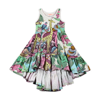 PAPER WINGS FRILLED SWING DRESS