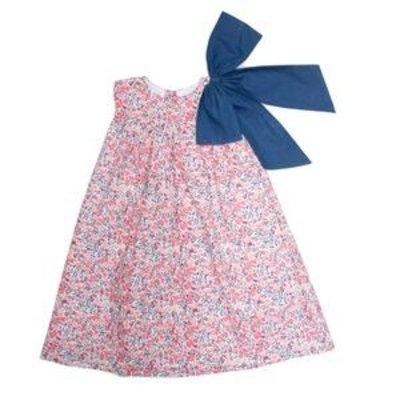 THE OAKS APPAREL COMPANY KOLBI POPPY BOW DRESS