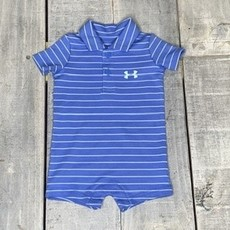 UNDER ARMOUR UA STRIPE POLO SHORTALL