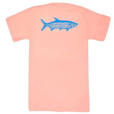 COASTAL COTTON CLOTHING YOUTH MELON TARPON SHORT SLEEVE TEE