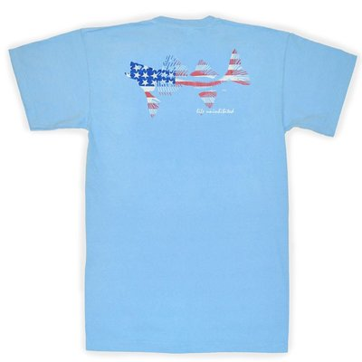 COASTAL COTTON CLOTHING YOUTH OCEAN ORIGINAL FLAG SHORT SLEEVE TEE