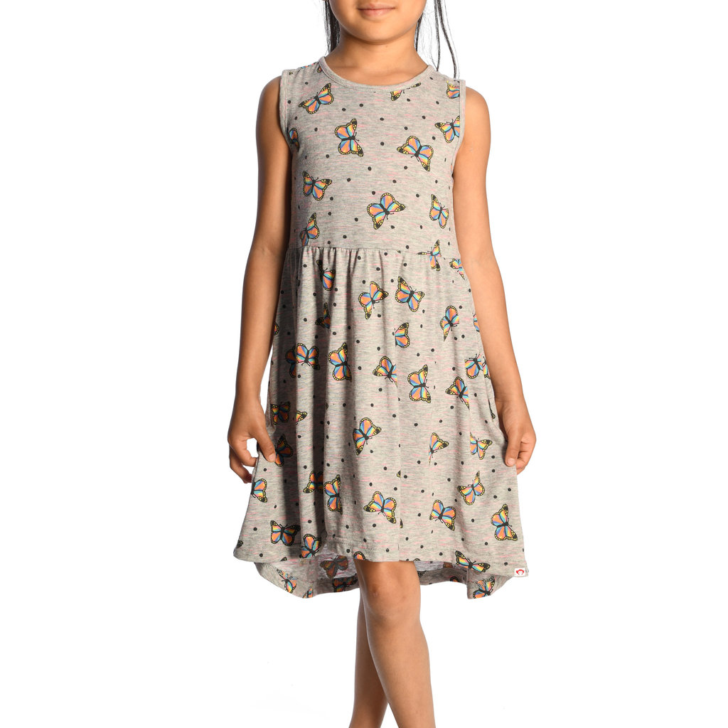 Appaman NAXIOS DRESS- BUTTERFLIES