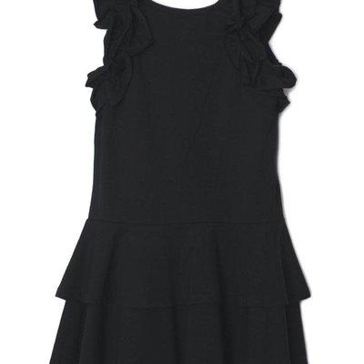 ISOBELLA & CHLOE SUNNY SMILE DRESS- BLACK