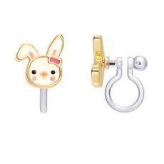 PIGGY STORY CLIP ON CUTIE STUDS- BOUNCY BUNNY